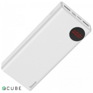 Power Bank Baseus Mulight PD3.0 Quick charge powerbank 20000mAh White