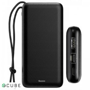 Power Bank Baseus Mini Q PD Quick Charger Power Bank 20000mAh Black