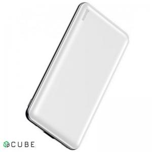 Power Bank Baseus Simbo power bank 10000mAh(T+IP input/T+U output 5V 3A 50cm Type-c) White