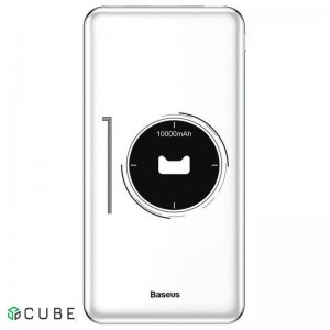 Power Bank Baseus Simbo Smart Power Bank 10000mAh White