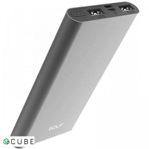 Power Bank GOLF EDGE10 10000mAh Silver