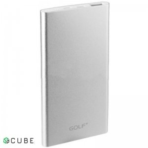 Power Bank GOLF EDGE5 5000mAh Silver