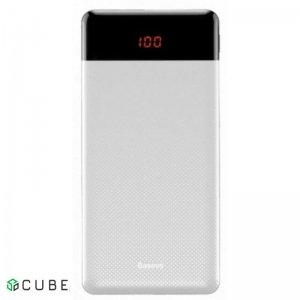 Power Bank Baseus Mini Cu Digital Display 10000mAh White