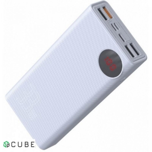 Power Bank Baseus Mulight Power Bank 30000mAh White