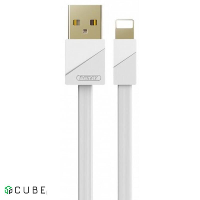 Кабель REMAX Gold Plating Quick Charging Cable RC-048i для Lightning 3A/1m. White