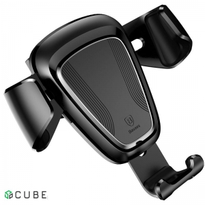 Держатель Baseus Gravity Car Mount(Metal type)Black
