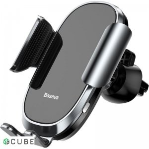 Держатель Baseus Smart Car Mount Cell Phone Holder Silver