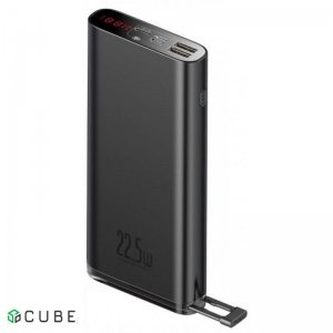 Power Bank Baseus Starlight Digital Display Quick Charg Power Bank 20000mAh 22.5W Black