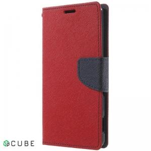 Чехол-книжка TOTO Book Cover Mercury Samsung Galaxy A3 A310 2016 DS Red