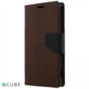 Чехол-книжка TOTO Book Cover Mercury Samsung Galaxy A3 A310 2016 DS Brown