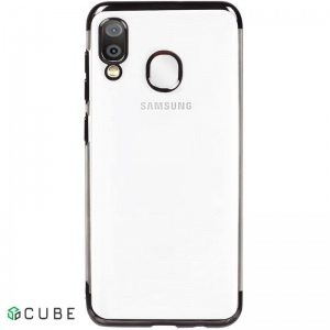 Чехол-накладка TOTO Electroplating TPU Case Samsung Galaxy A20/A30 Black