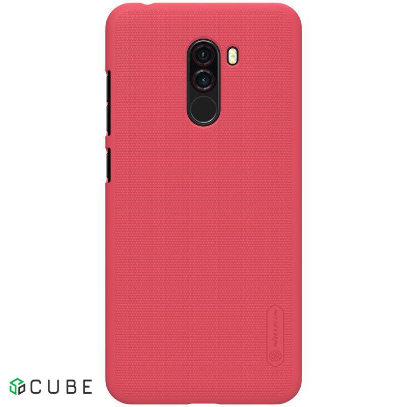 Чехол-накладка Nillkin Super Frosted Shield Xiaomi Pocophone F1 Red