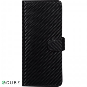 Чехол-книжка TOTO Book Carbon Fiber Universal Cover 4,7-5,3
