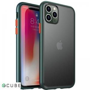 Чехол-накладка Ipaky Cucoloris Series/TPU Frame Anti-Scratch PC Case Apple iPhone 11 Pro Max Dark Green