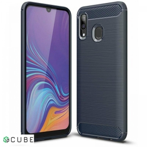 Чехол-накладка Ipaky Slim Anti-Fingerprint TPU Case Samsung Galaxy A20/A30 Blue