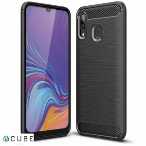 Чехол-накладка Ipaky Slim Anti-Fingerprint TPU Case Samsung Galaxy A20/A30 Black