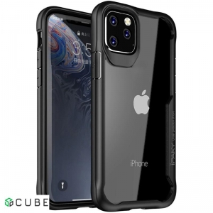 Чехол-накладка Ipaky Survival TPU Frame Injected Anti-Scratch PC Case Apple iPhone 11 Pro Max Black