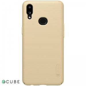 Чехол-накладка Nillkin Super Frosted Shield Case Samsung Galaxy A10s Gold