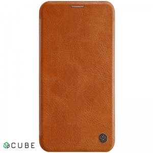 Чехол-книжка Nillkin Qin Leather Case Apple iPhone 11 Pro Max Brown