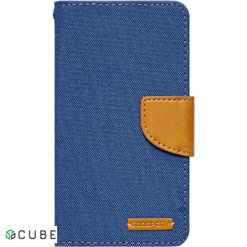 Чехол-книжка Goospery Canvas Diary Universal 5.0'-5.5' Denim