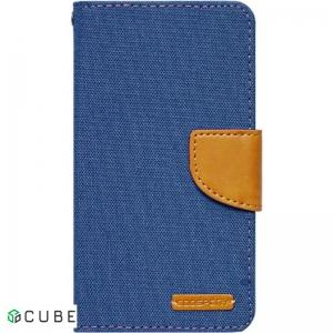 Чехол-книжка Goospery Canvas Diary Universal 4.0'-4.5' Denim