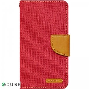 Чехол-книжка Goospery Canvas Diary Universal 4.0'-4.5' Red