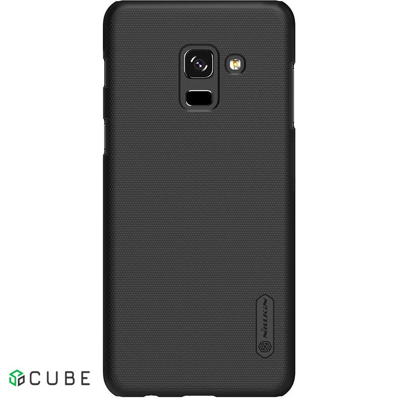 Чехол-накладка Nillkin Super Frosted Shield Samsung Galaxy A8 Plus 2018 Black