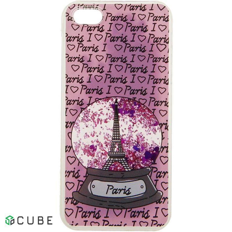 Чехол-накладка TOTO Liquid TPU Cases Apple iPhone 5/5s/SE Paris