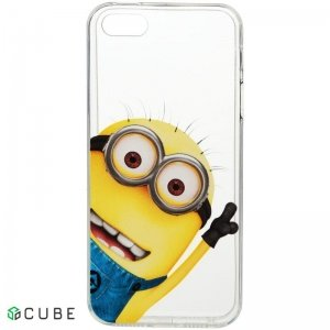 Чехол-накладка TOTO TPU case Minions Meizu M3 note Tom