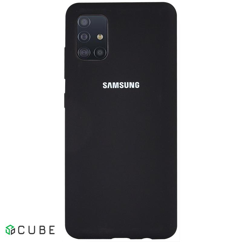 Чехол-накладка TOTO Silicone Full Protection Case Samsung Galaxy A51 Black