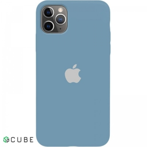 Чехол-накладка TOTO Silicone Full Protection Case Apple iPhone 11 Pro Max Azusa Blue