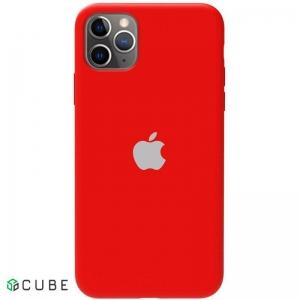 Чехол-накладка TOTO Silicone Full Protection Case Apple iPhone 11 Pro Max Red
