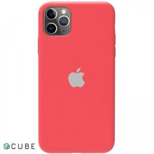 Чехол-накладка TOTO Silicone Full Protection Case Apple iPhone 11 Pro Max Peach Pink