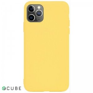 Чехол-накладка TOTO 1mm Matt TPU Case Apple iPhone 11 Pro Max Yellow