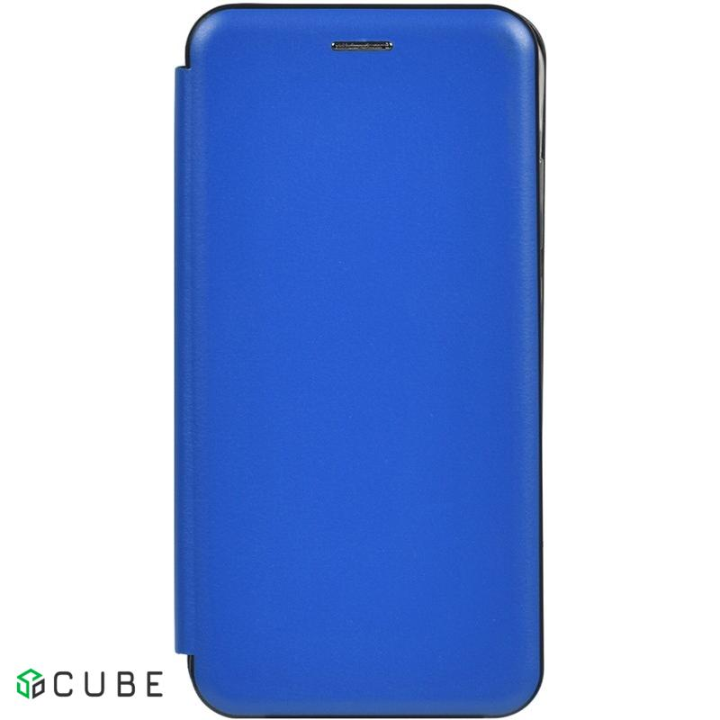 Чехол-накладка TOTO Book Rounded Leather Case Xiaomi Redmi Note 8 Navy Blue