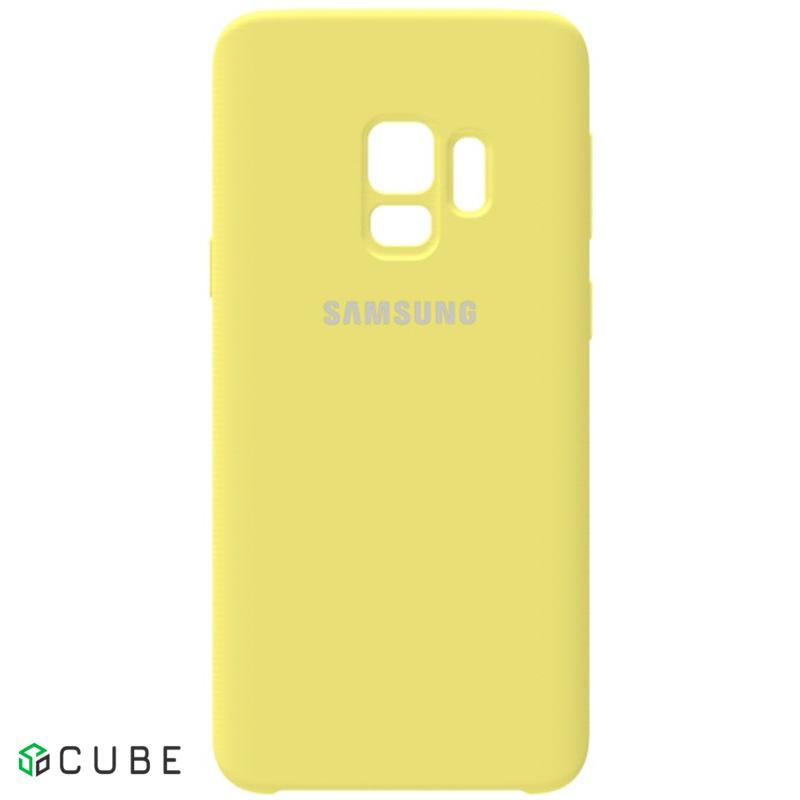 Чехол-накладка TOTO Silicone Case Samsung Galaxy S9 Lemon Yellow