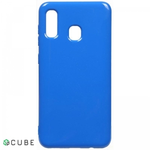Чехол-накладка TOTO Mirror TPU 2mm Case Samsung Galaxy A20/A30 Blue